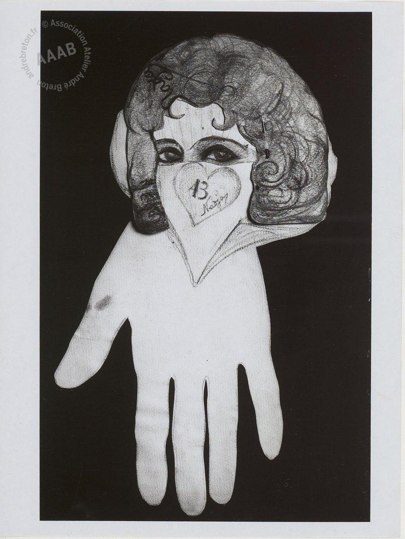 Tirages de dessins de Nadja (André Breton)